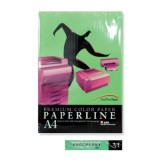 BARVNI PAPIR PAPERLINE A4 GREEN