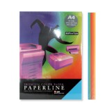 BARVNI PAPIR PAPERLINE A4 INTENZIV